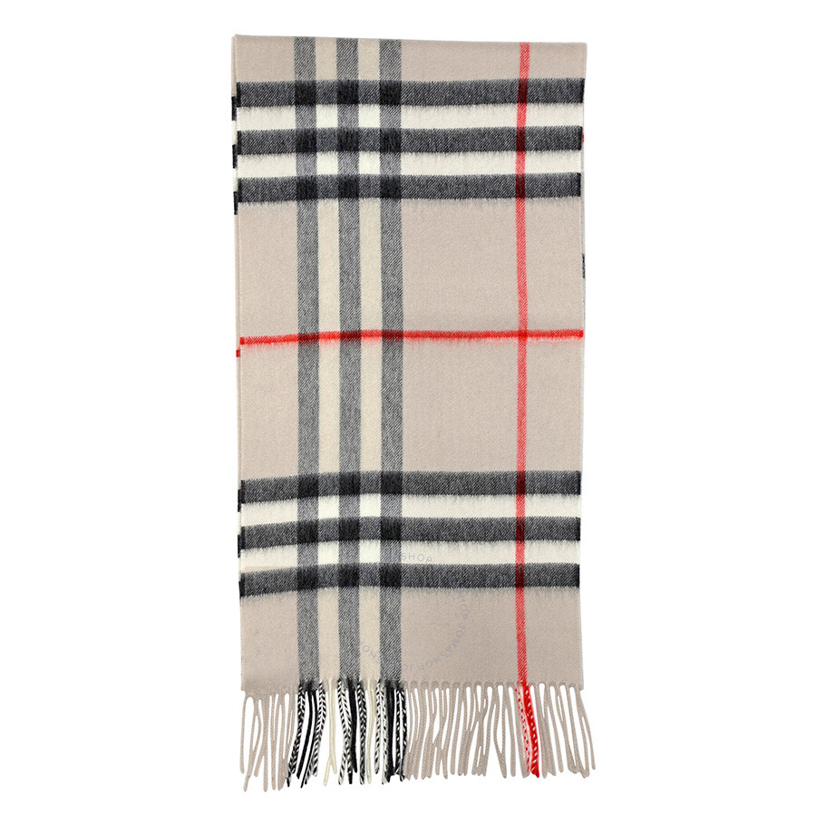 0604c6cd51fff Burberry Heritage Stone Check Cashmere Scarf 3954673 Burberry Heritage  Stone Check Cashmere Scarf 3954673 ...