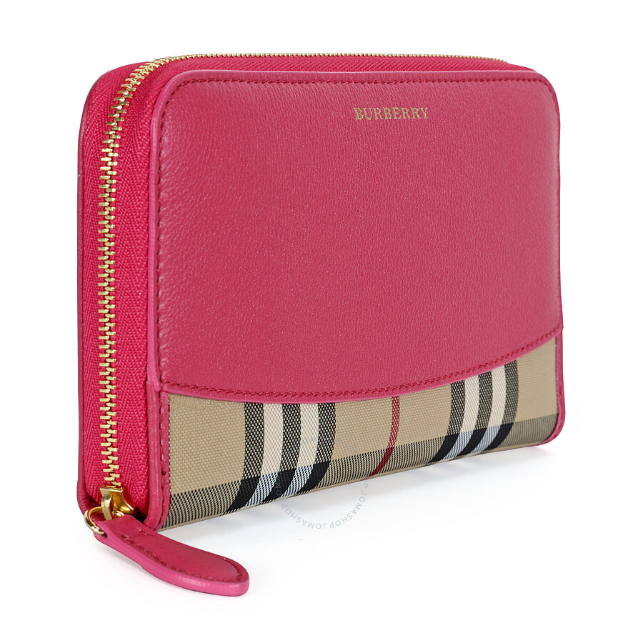 burberry horseferry check hipfold wallet