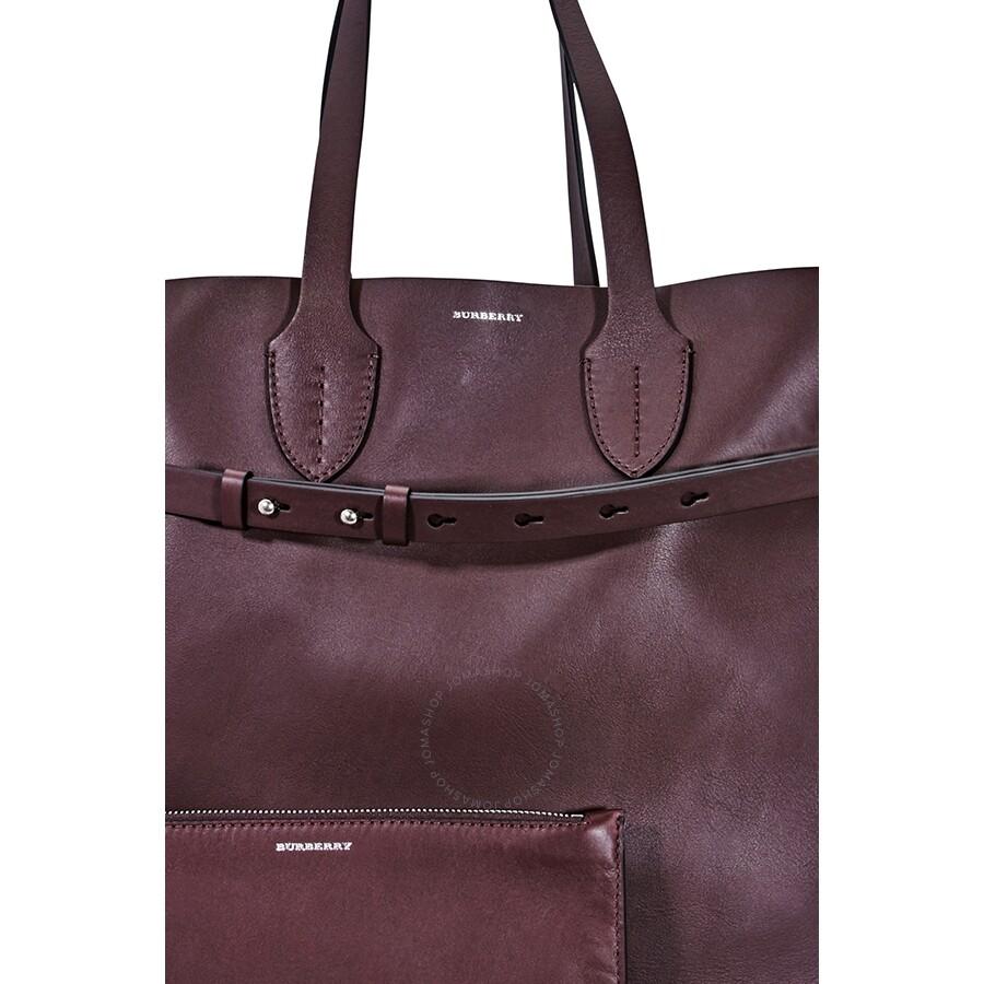dec96211508c Burberry Large Soft Leather Belt Bag- Deep Claret - Burberry ...