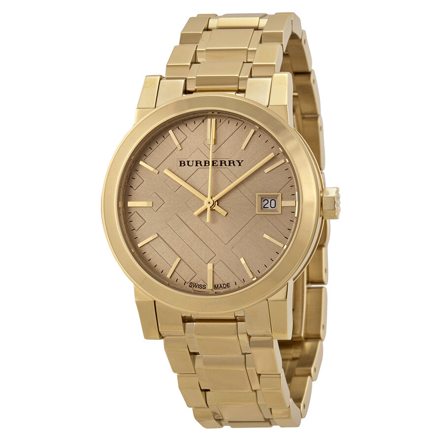 burberry light chagne light gold tone