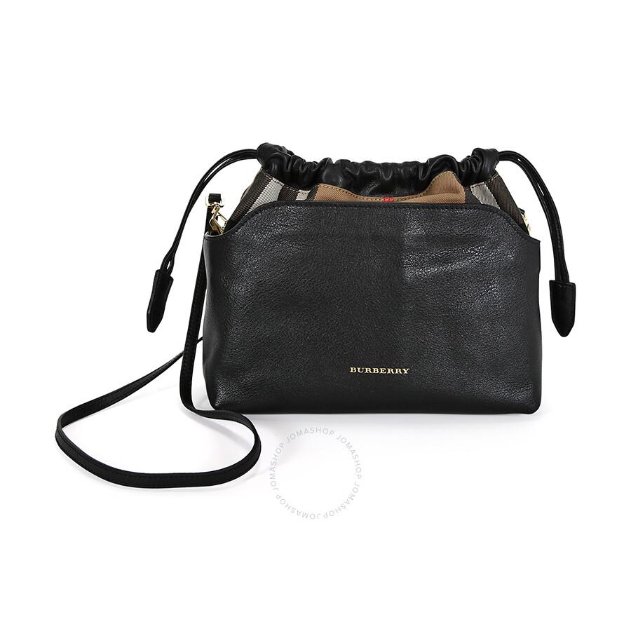 26ad4d967007 Burberry Little Crush Shoulder Bag - Black - Burberry Handbags ...