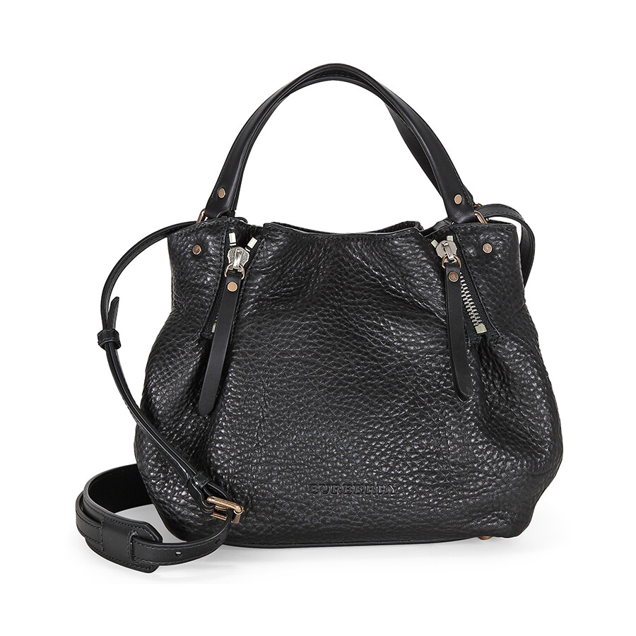 5dcc0ec15eea Burberry Maidstone Small Satchel - Black - Burberry Handbags ...