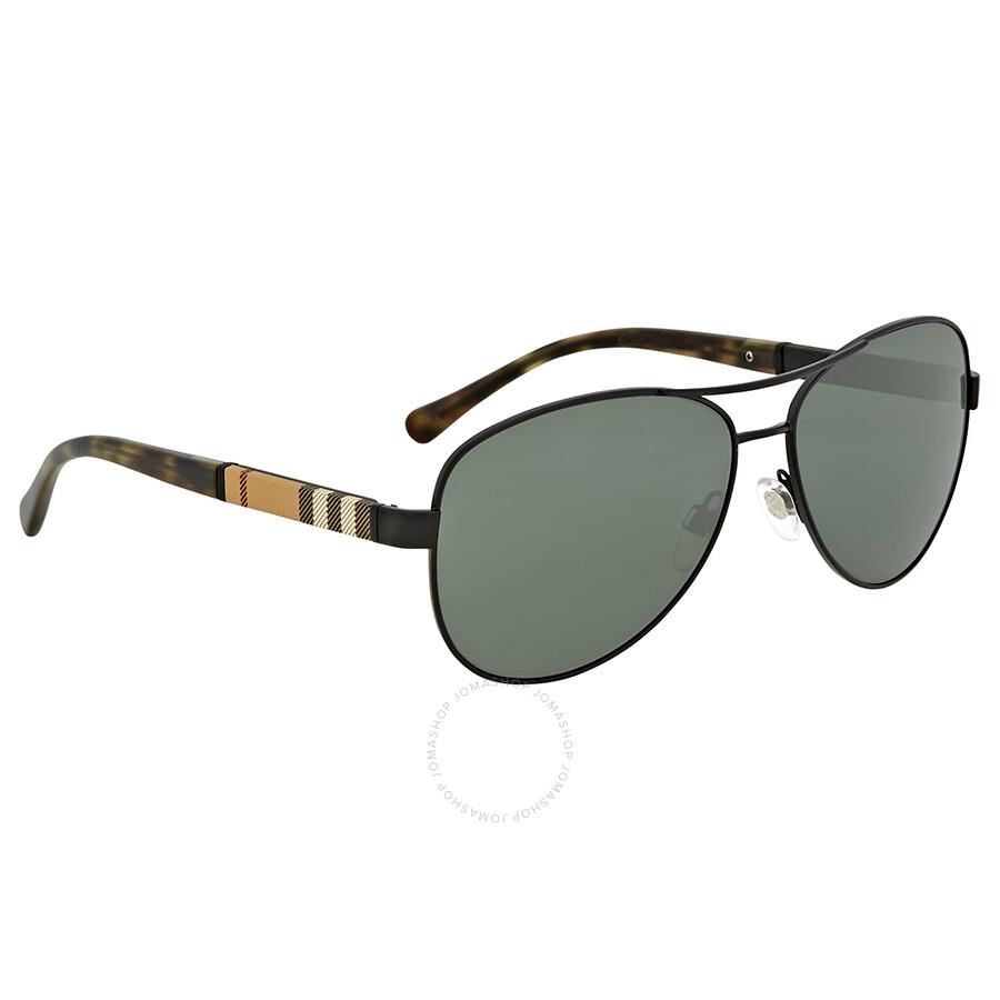 c6f990f0f77f Burberry Matte Black Aviator Sunglasses Burberry Matte Black Aviator  Sunglasses ...