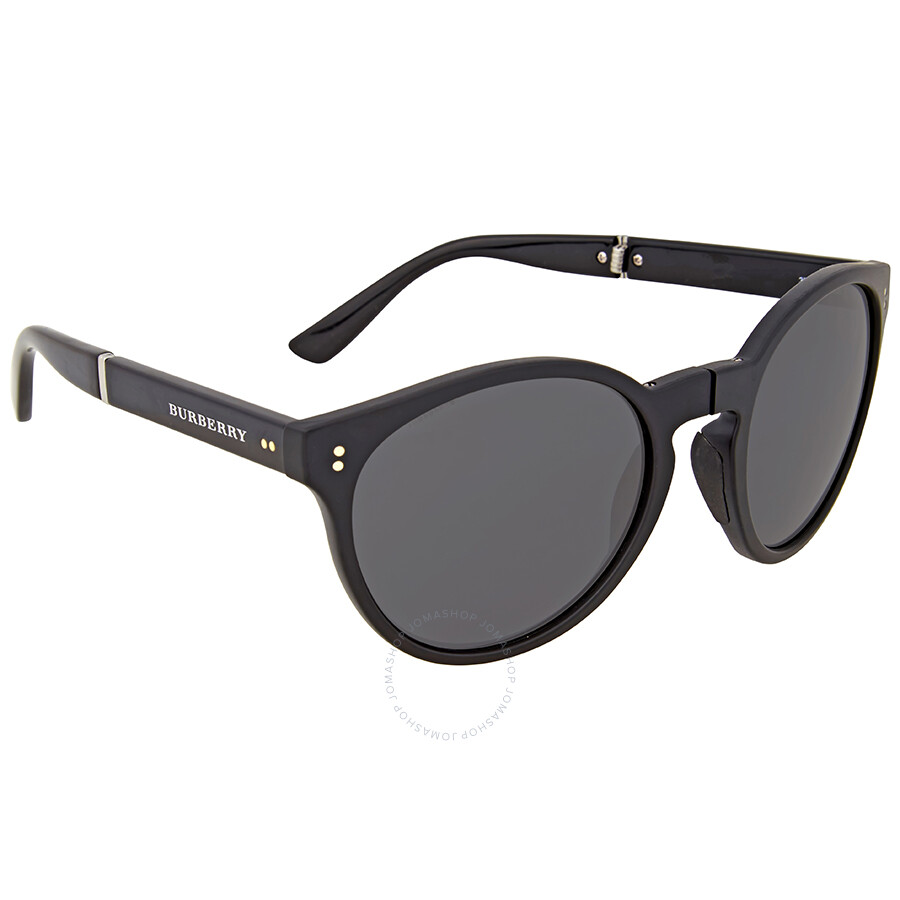 639c05924f Burberry Matte Black Cat Eye Sunglasses - Burberry - Sunglasses ...