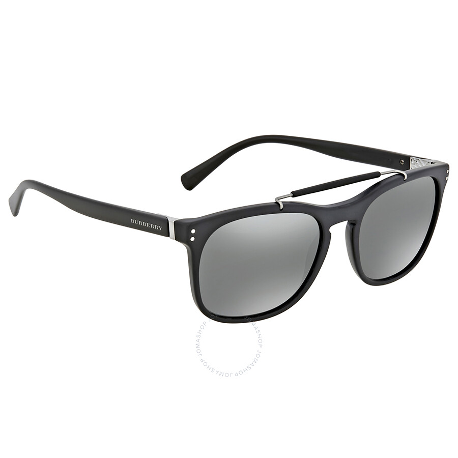 17d6f8bbfaa3 Burberry Matte Black Square Sunglasses Burberry Matte Black Square  Sunglasses ...