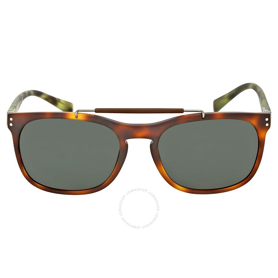 9f4614e5c7c3 Burberry Matte Light Havana Sunglasses - Burberry - Sunglasses ...
