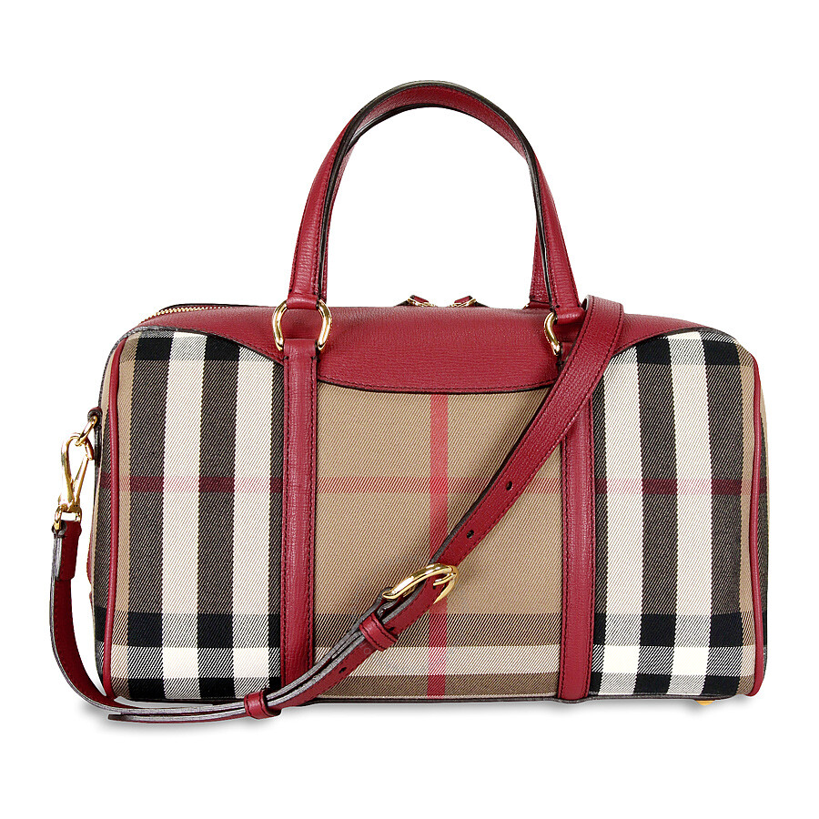 Burberry Medium Alchester Bowling Bag - Russet Red Item No. 3980849 9c54819fae798