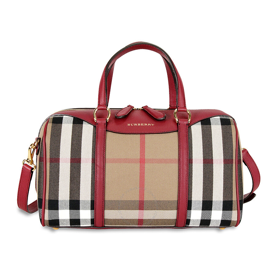 c68886895beb Burberry Medium Alchester Bowling Bag - Russet Red Item No. 3980849