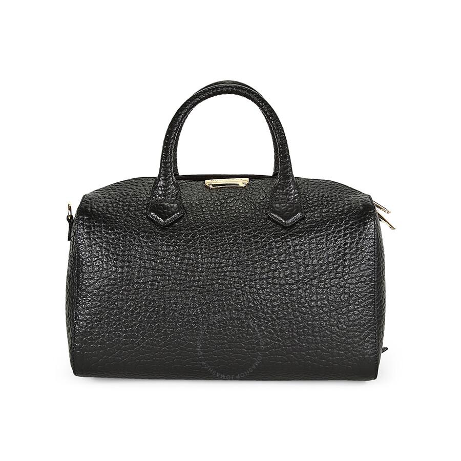 186384c571a6 Burberry Medium Alchester Bowling Bag - Black - Burberry Handbags ...