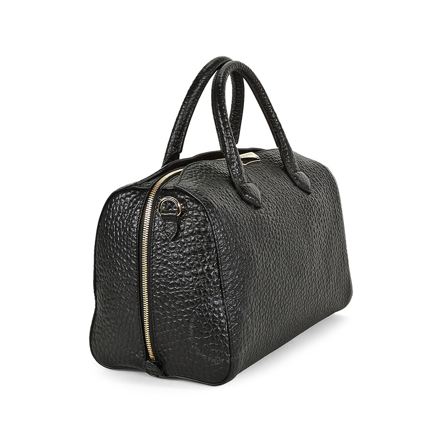Burberry Medium Alchester Bowling Bag - Black - Burberry Handbags ... cea4e2dd31983