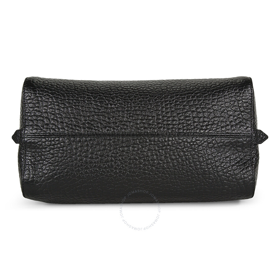 Burberry Medium Alchester Bowling Bag - Black - Burberry Handbags ... e8b4e2b31e5f1