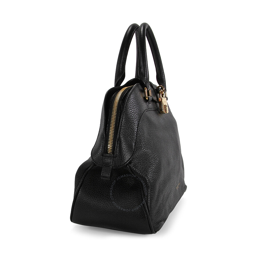 cea92525aef Burberry Medium Deerskin Bowling Bag - Black - Burberry Handbags ...