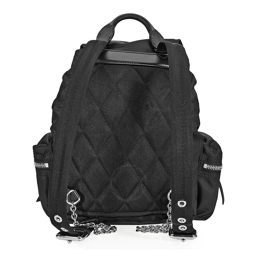 bc75fe61b15f Burberry medium nylon and leather rucksack black burberry jpg 900x900 Black leather  rucksack