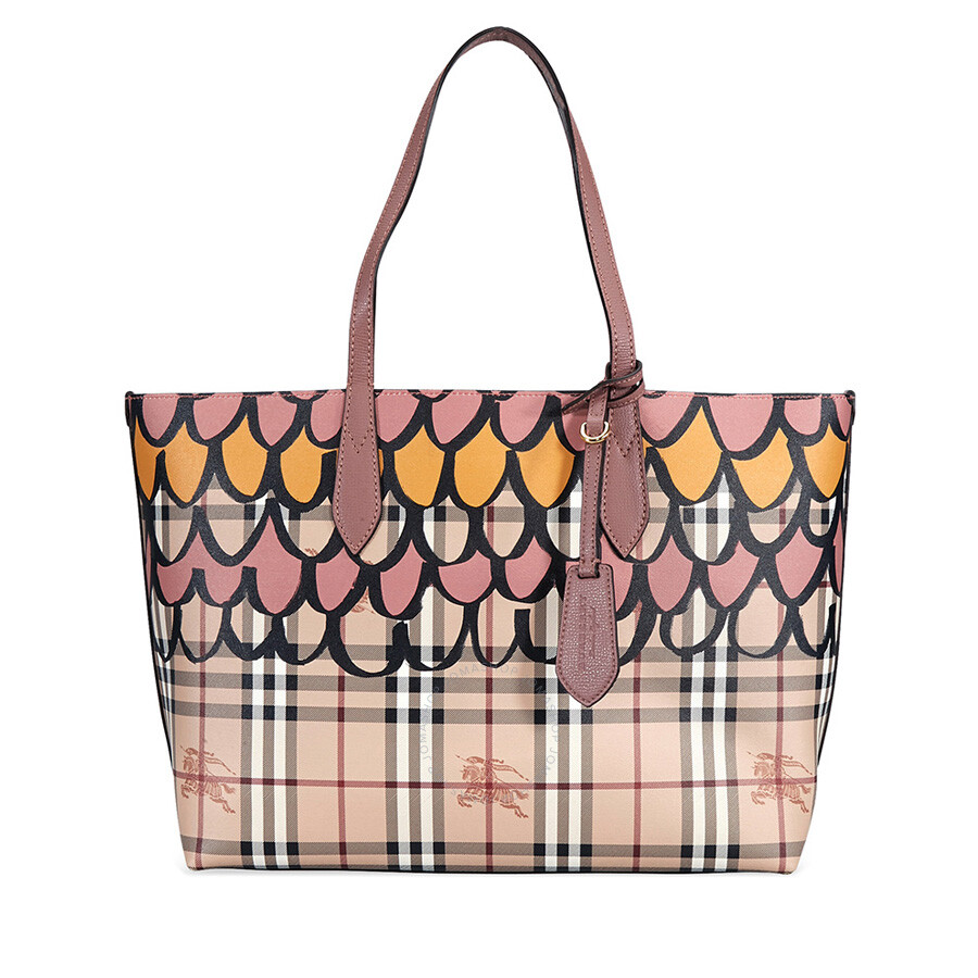 1bdf644cada5 Burberry Medium Reversible Tote - Light Elderberry - Burberry ...