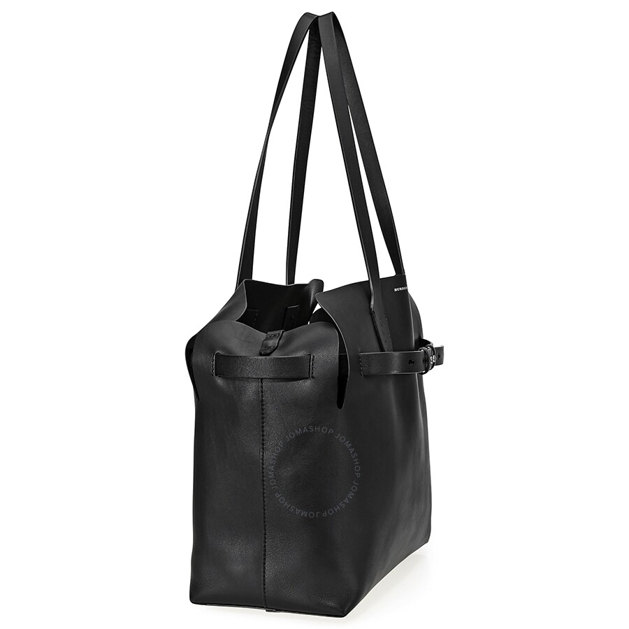 4fcddd58343b Burberry Medium Soft Leather Belt Bag- Black - Burberry Handbags ...