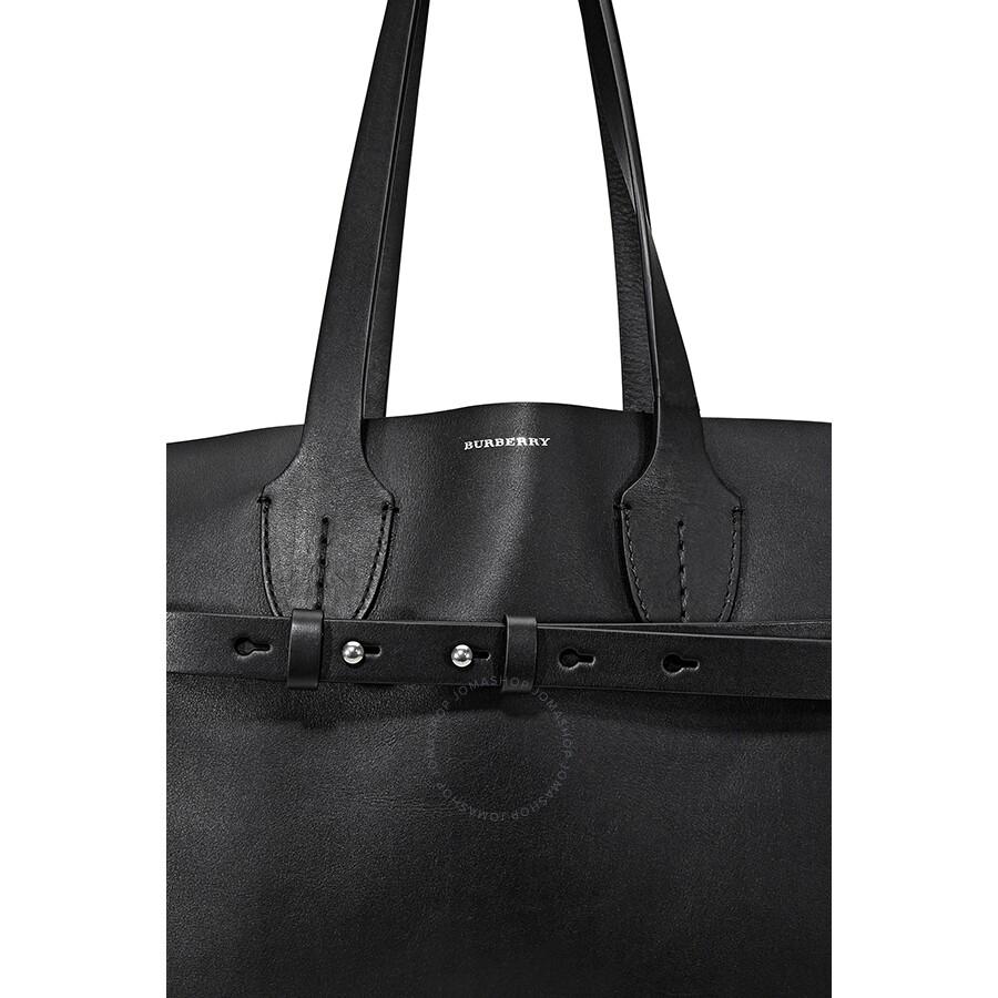 146ae35ef757 Burberry Medium Soft Leather Belt Bag- Black - Burberry Handbags ...