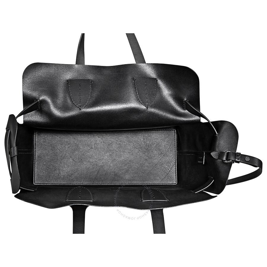 Burberry Medium Soft Leather Belt Bag- Black - Burberry Handbags ... 9ac72e97cb2bd