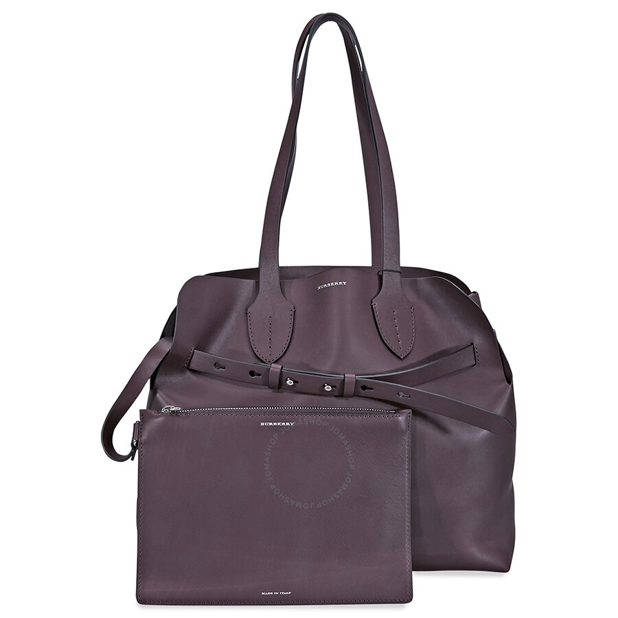 10899f358f10 Burberry Medium Soft Leather Belt Bag- Deep Claret - Burberry ...