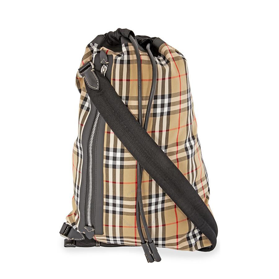 Burberry Medium Vintage Check Duffle Bag - Burberry Handbags ... 9f6c54aec0