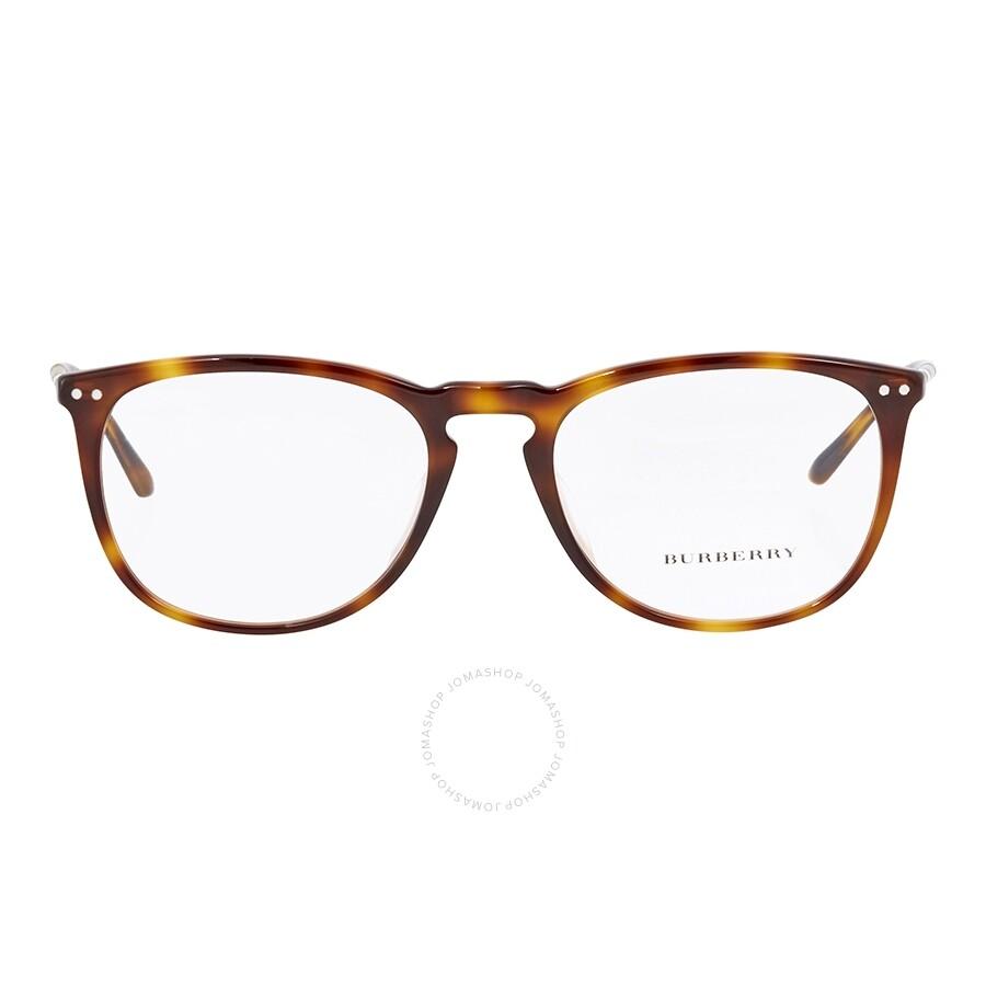 5f4c3d0268fe Burberry Light Havana Square Eyeglasses BE2258QF-3316-55 - Burberry ...