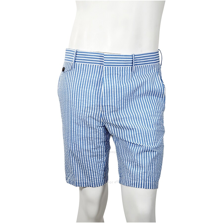 Burberry Men S S Navy Slim Shorts Apparel Jomashop