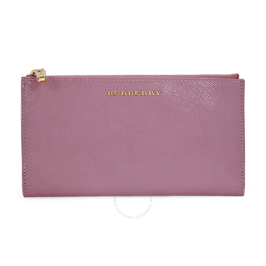 761976c435be Burberry Patent London Leather Continental Wallet - Pink Heather Item No.  39305311