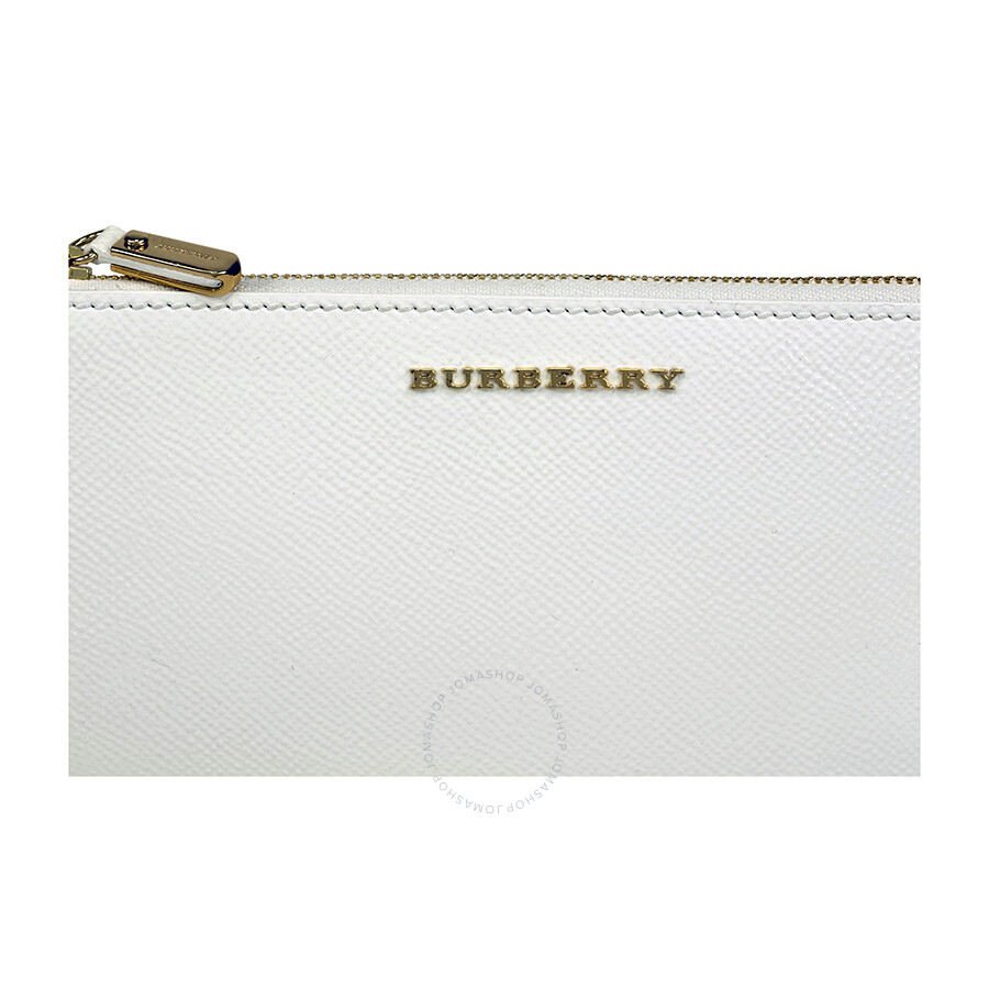 093c557c0034 Burberry Patent London Leather Continental Wallet - White - Burberry ...