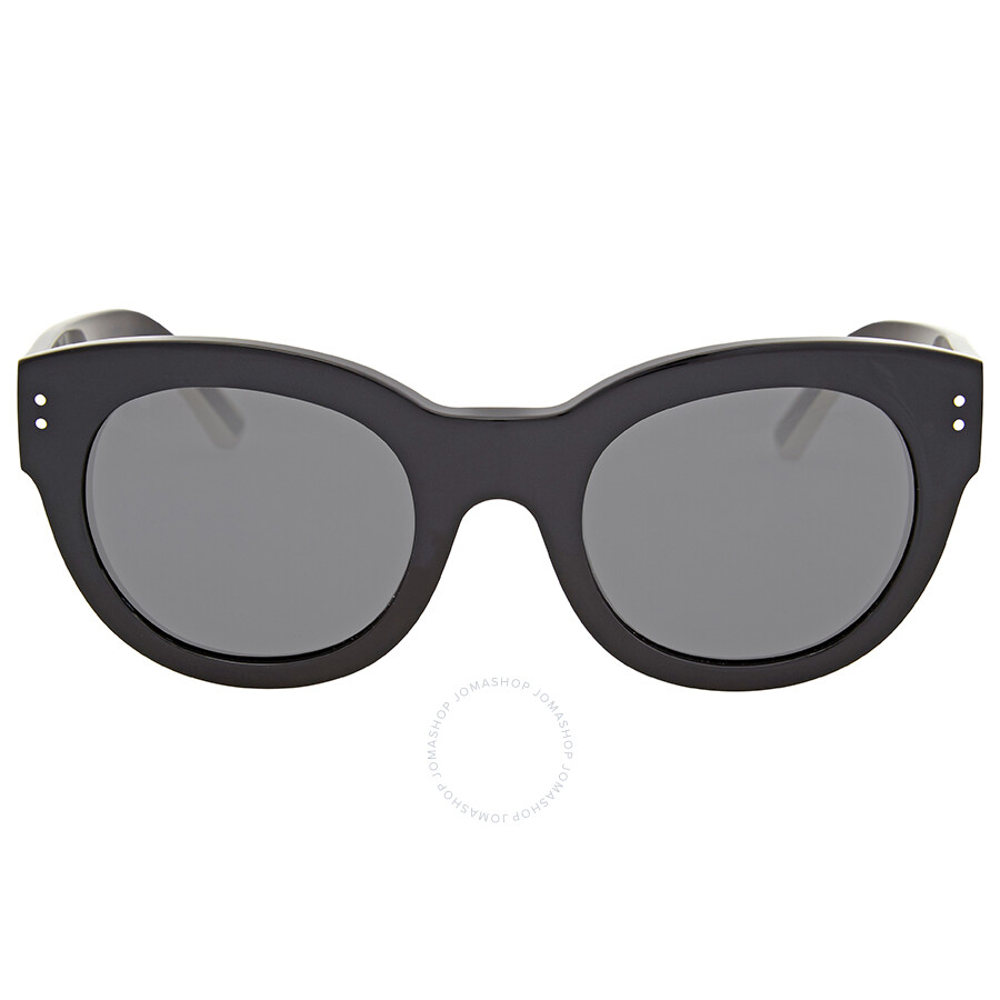 c212ef773015 Burberry Runway Phantos Black Cat Eye Sunglasses - Burberry ...