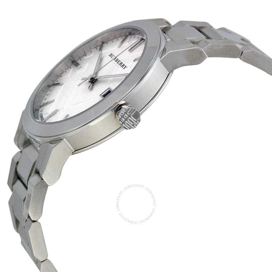 802cbfeb7b4 Burberry Silver Dial Stainless Steel Unisex Watch BU9000 - Burberry ...