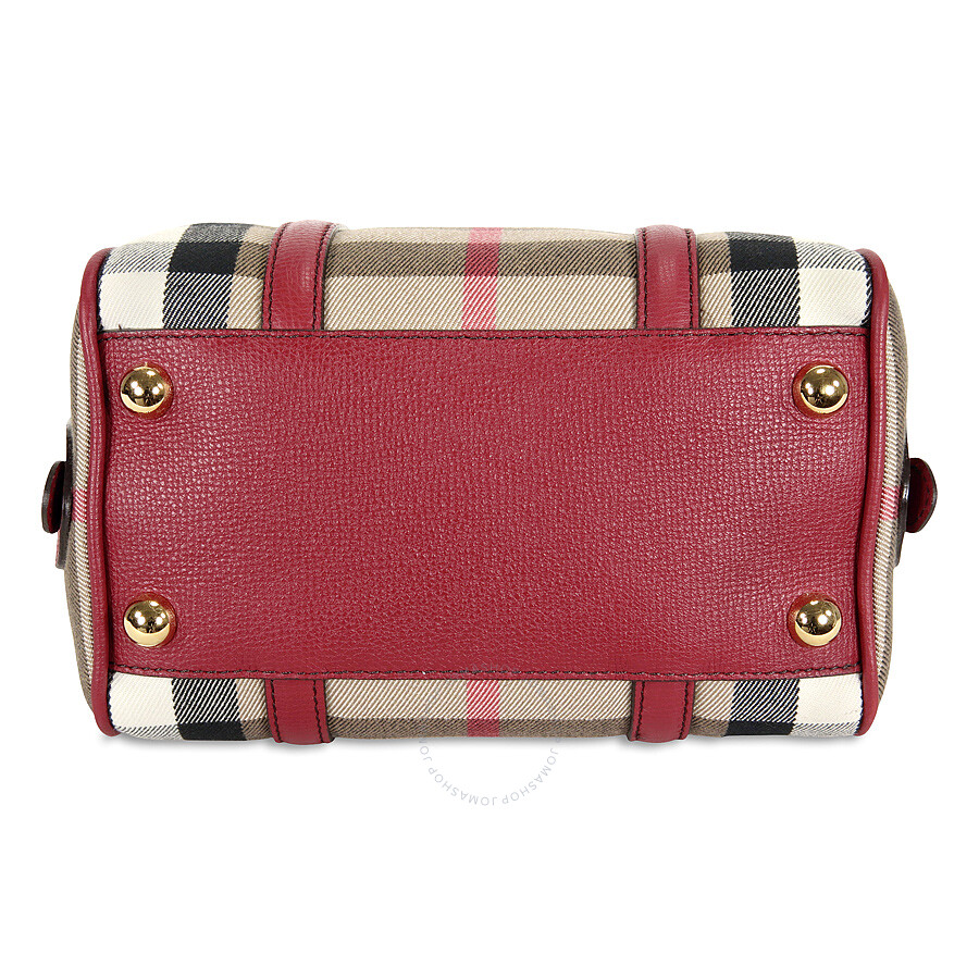 0b013637b0a4 Burberry Small Alchester Bowling Bag - Russet Red - Burberry ...