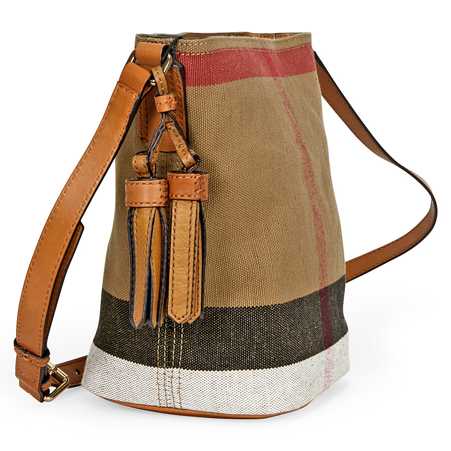 Burberry Small Ashby Crossbody Bag - Saddle Brown - Burberry ... 1a1a05289108d