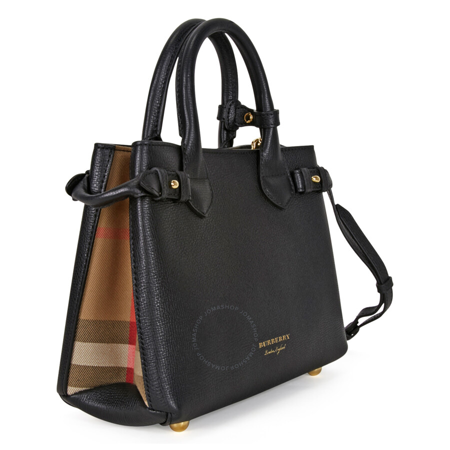 Burberry Tote Bag Black