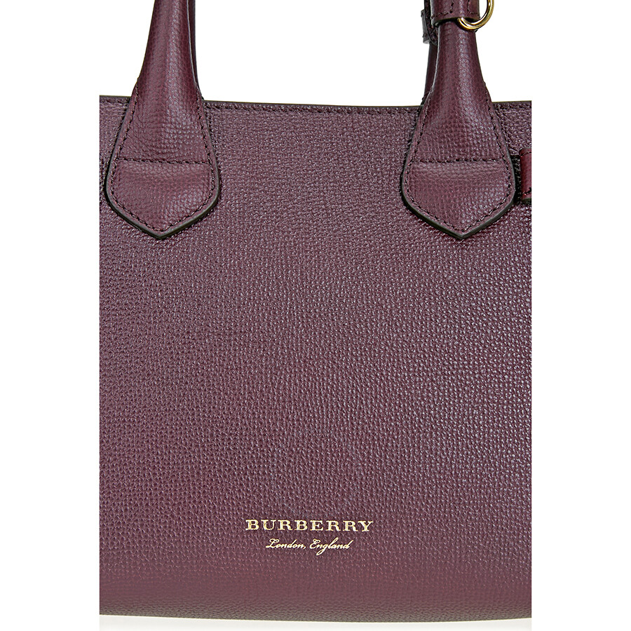 cc92ba7daa75 Burberry Small Banner Tote- Mahogany Red - Burberry Handbags ...