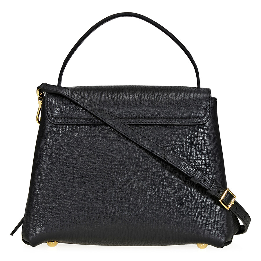 08ca6aa3c645 Burberry Small Grainy Leather Tote- Black - Burberry Handbags ...