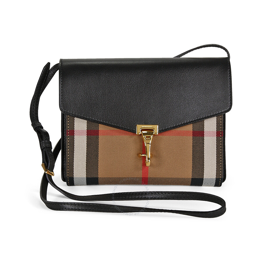 040f38d3b8b Burberry Small Macken House Check Crossbody Bag - Burberry Handbags ...