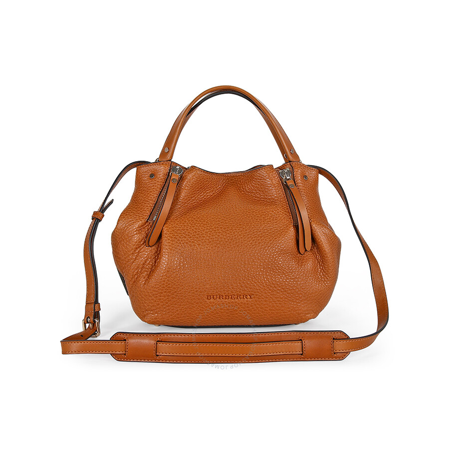 64bb4d5a4e Burberry Small Maidstone Saddle Brown Leather Tote 3963673 ...