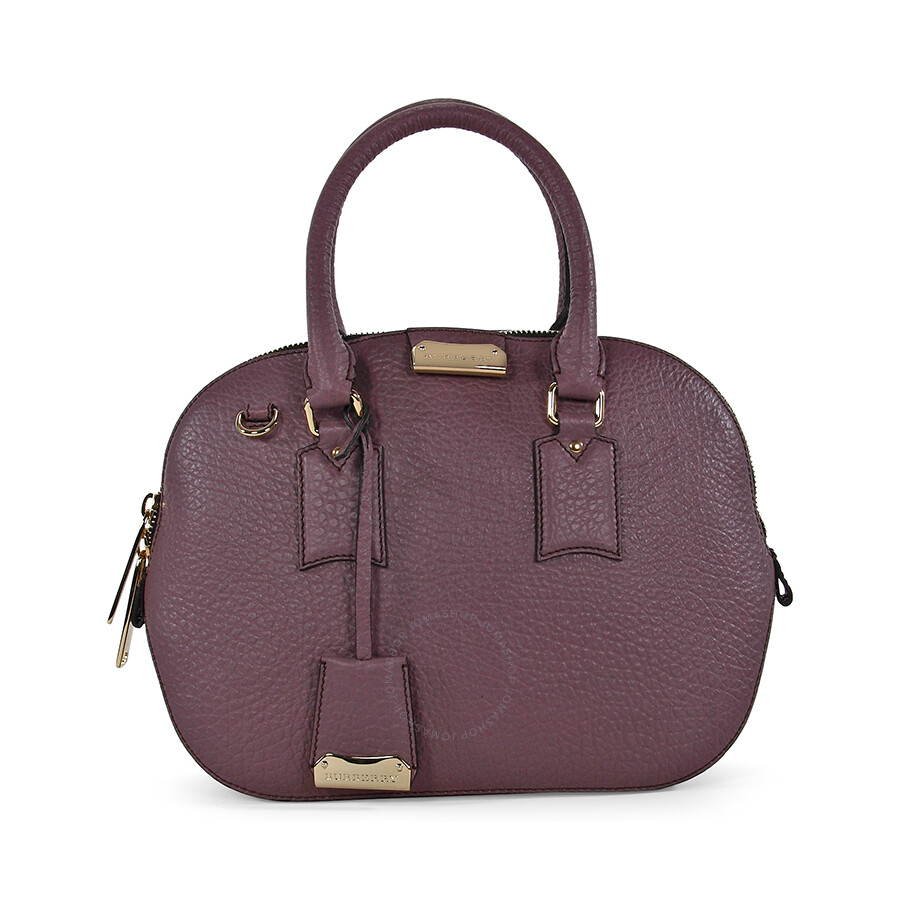 1d71b49ea4c Burberry Small Orchard Bowling Bag - Dusky Mauve - Burberry Handbags ...