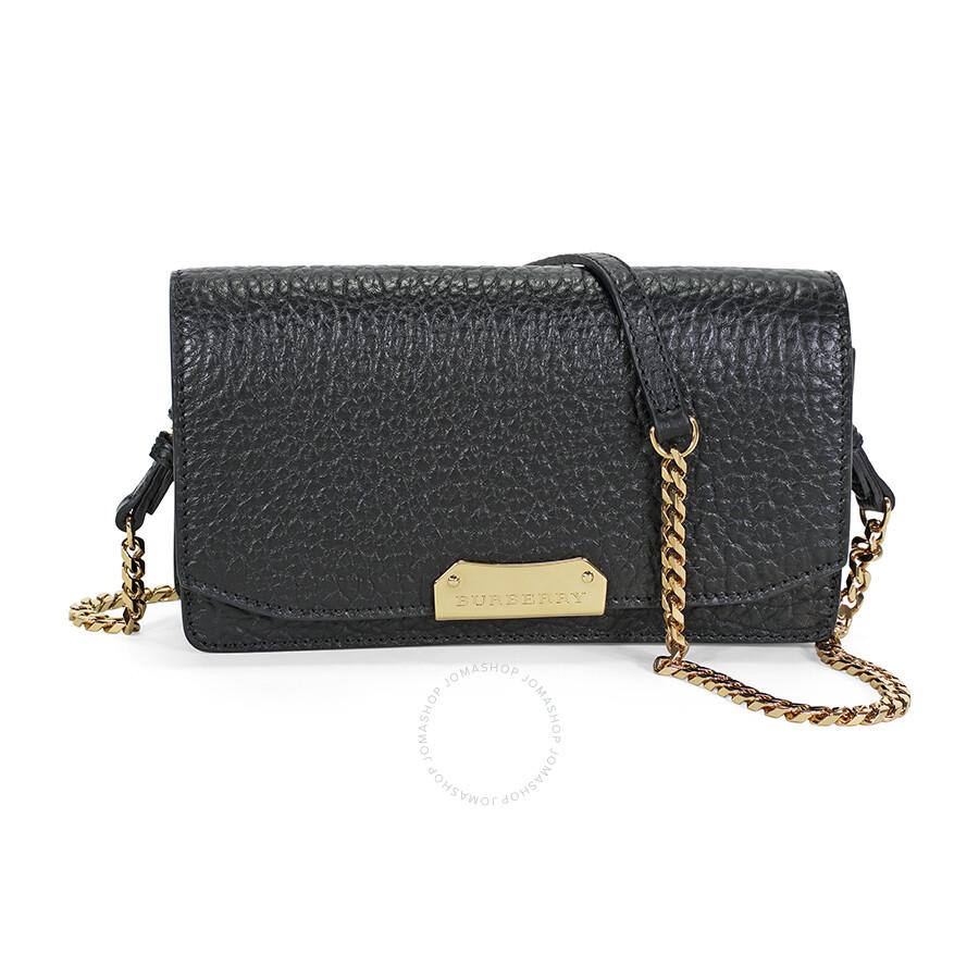 da156a8a8a2e Burberry Small Signature Grain Leather Clutch - Black Item No. 39704281