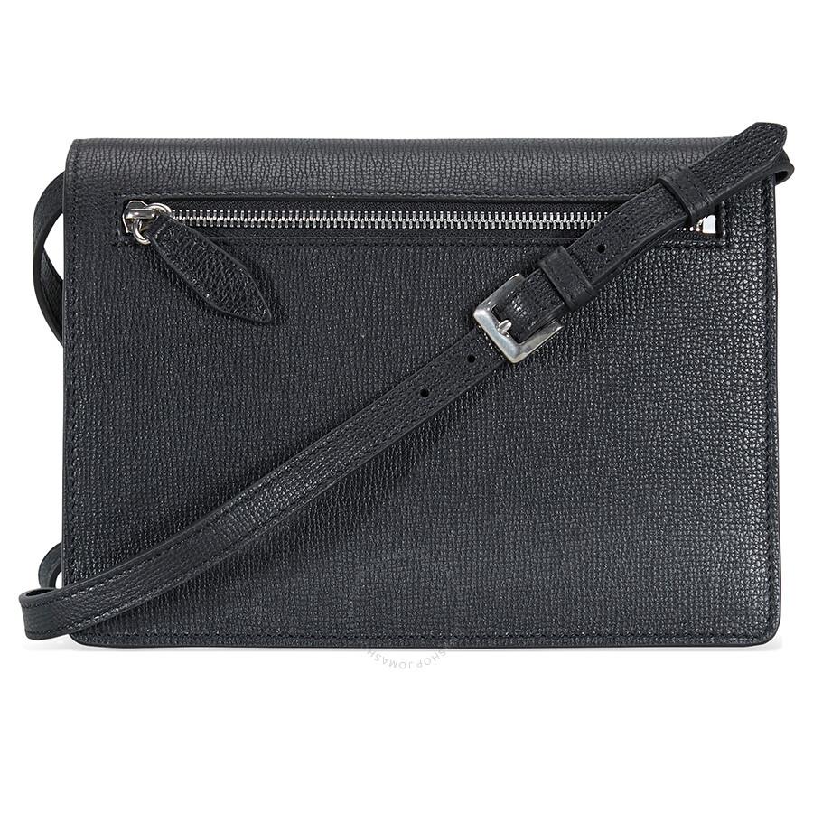 84fcb08b7 Burberry Small Vintage and Check Crossbody Bag- Black - Burberry ...