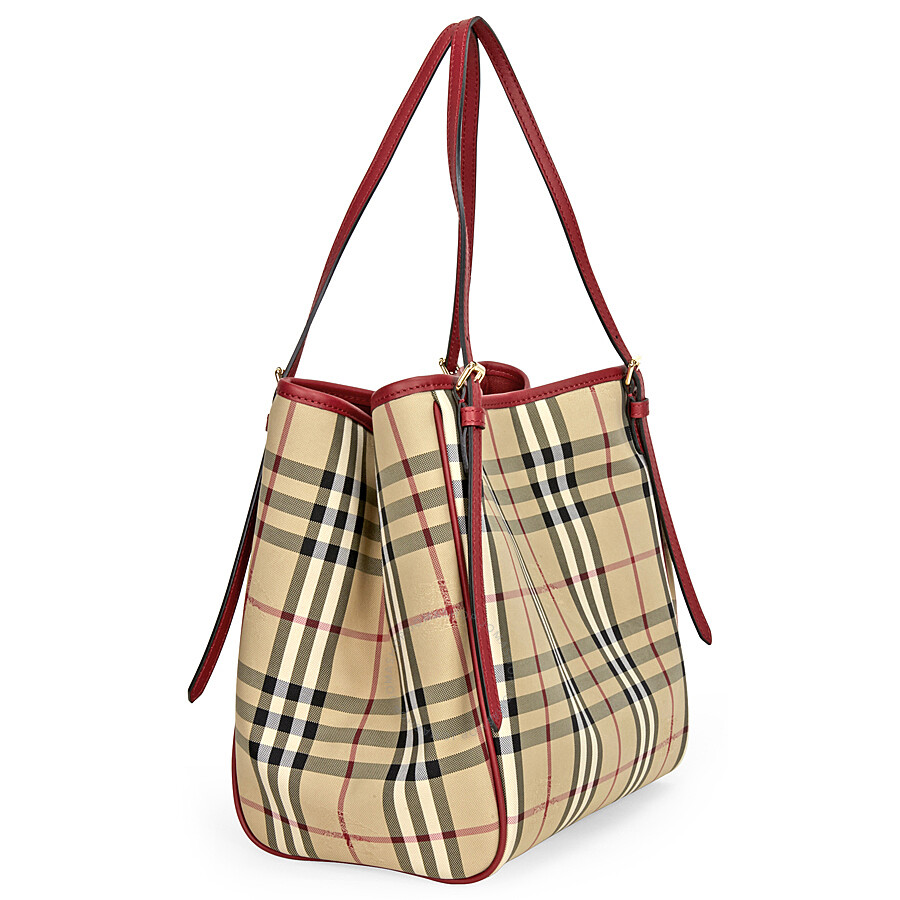 Burberry Horseferry Check Tote - Ontario Active School Travel