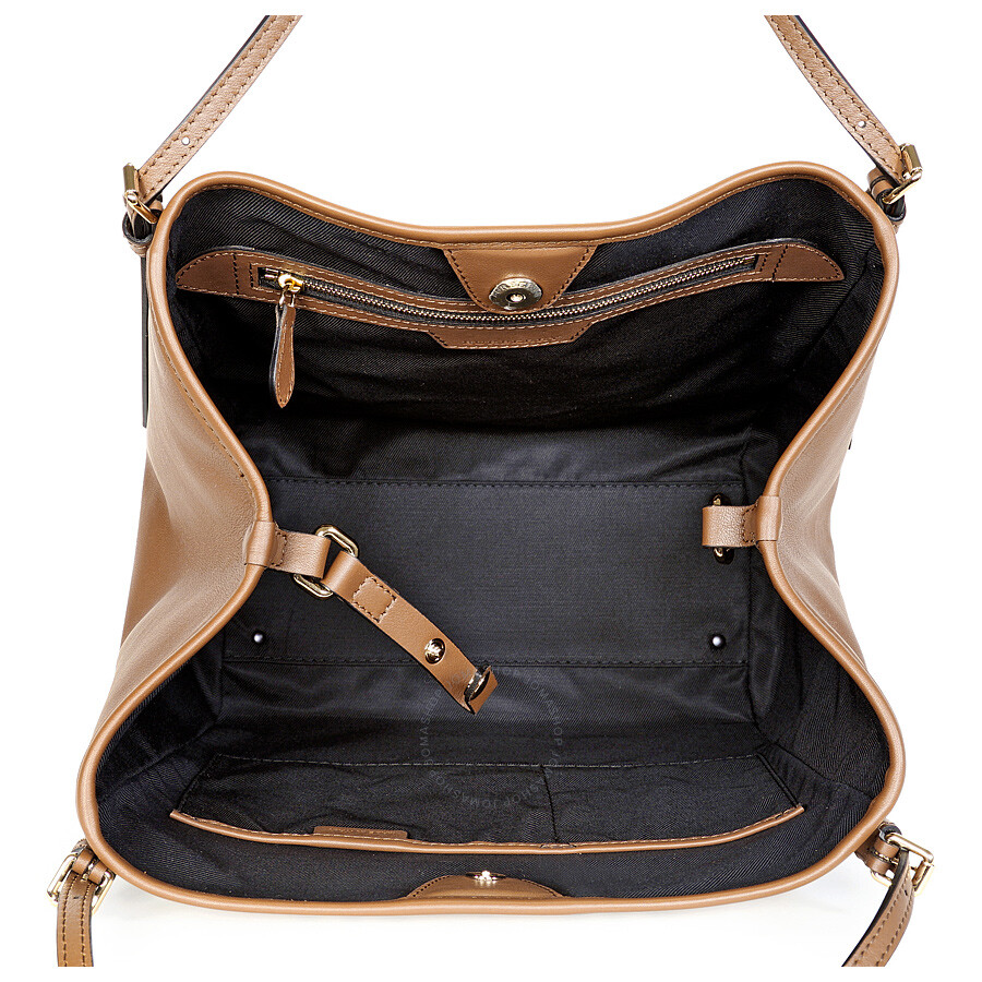 60121aabea60 Burberry The Small Canter Horseferry Check Tote Bag - Honey Tan ...