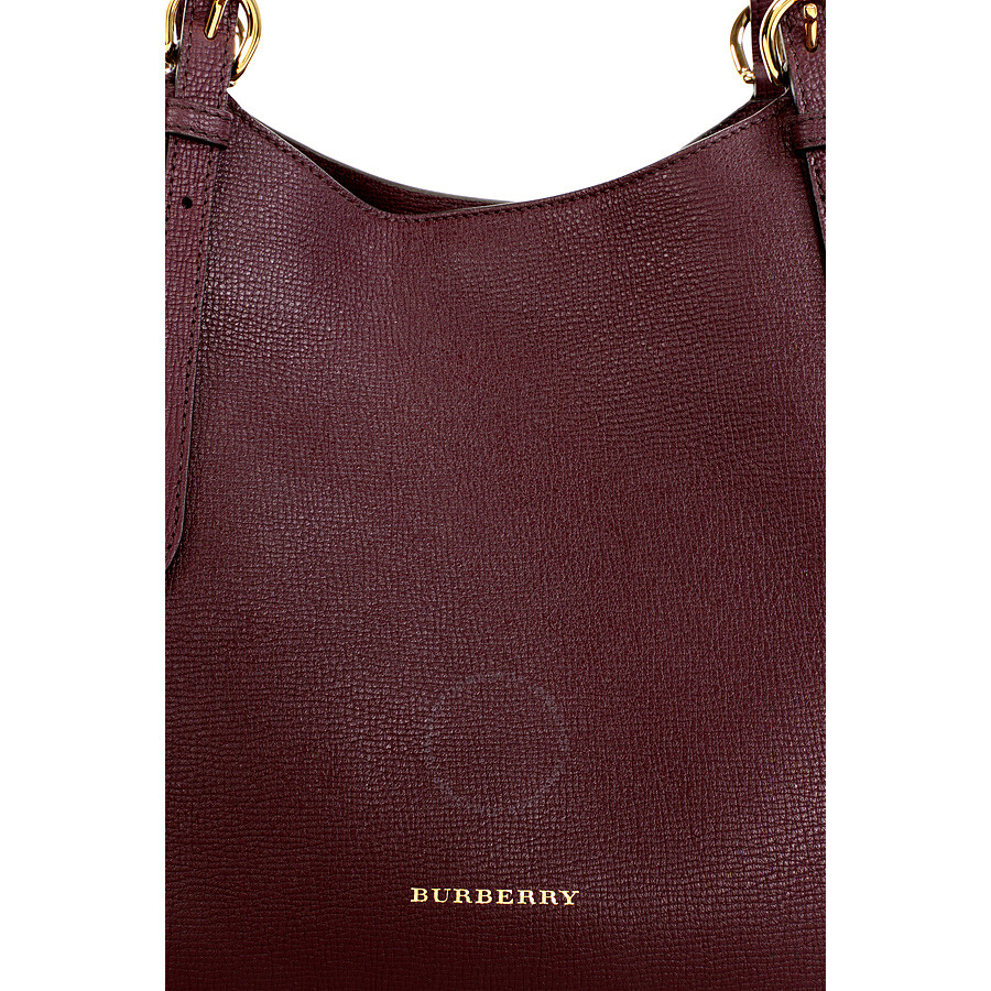 25cefe84b66d Burberry The Small Canter Leather Tote - Mahogany Red - Burberry ...