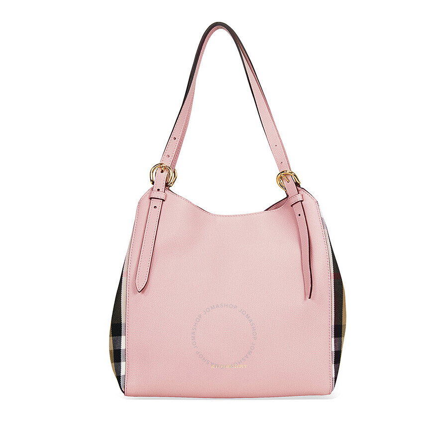 Burberry The Small Canter Leather Tote - Pale Orchid Item No. 3997148 4a3d88819aa87