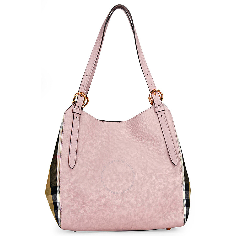 c42b68a64e5 Burberry The Small Canter Leather Tote - Pale Orchid - Burberry ...