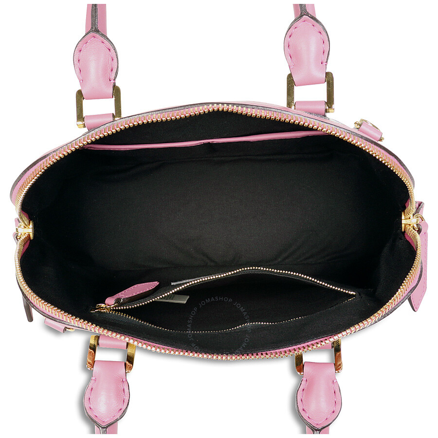 19d8bf4ebd5 Burberry The Small Orchard House Check Bowling Bag - Mauve Pink ...