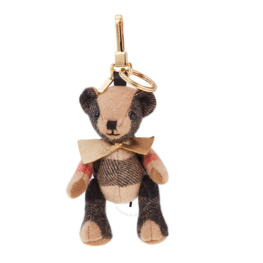 Thomas Bear Charm With Rucksack by Burberry