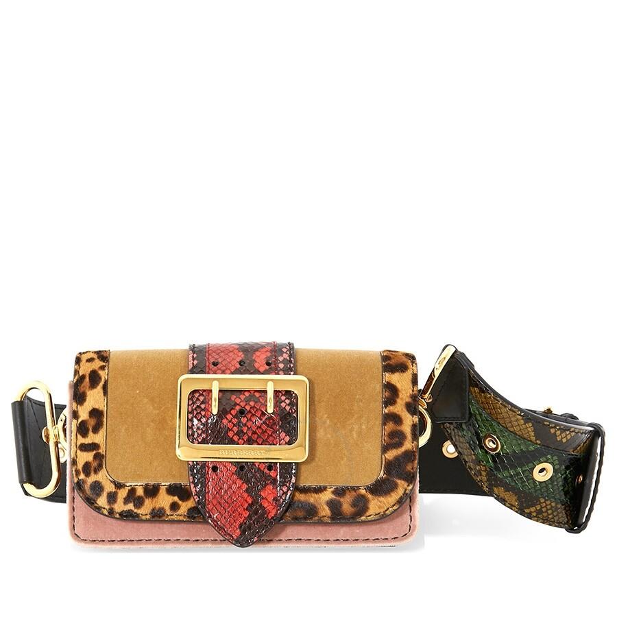 c8fdfe7da0 Burberry Velvet Patchwork Crossbody Bag - Burberry Handbags ...