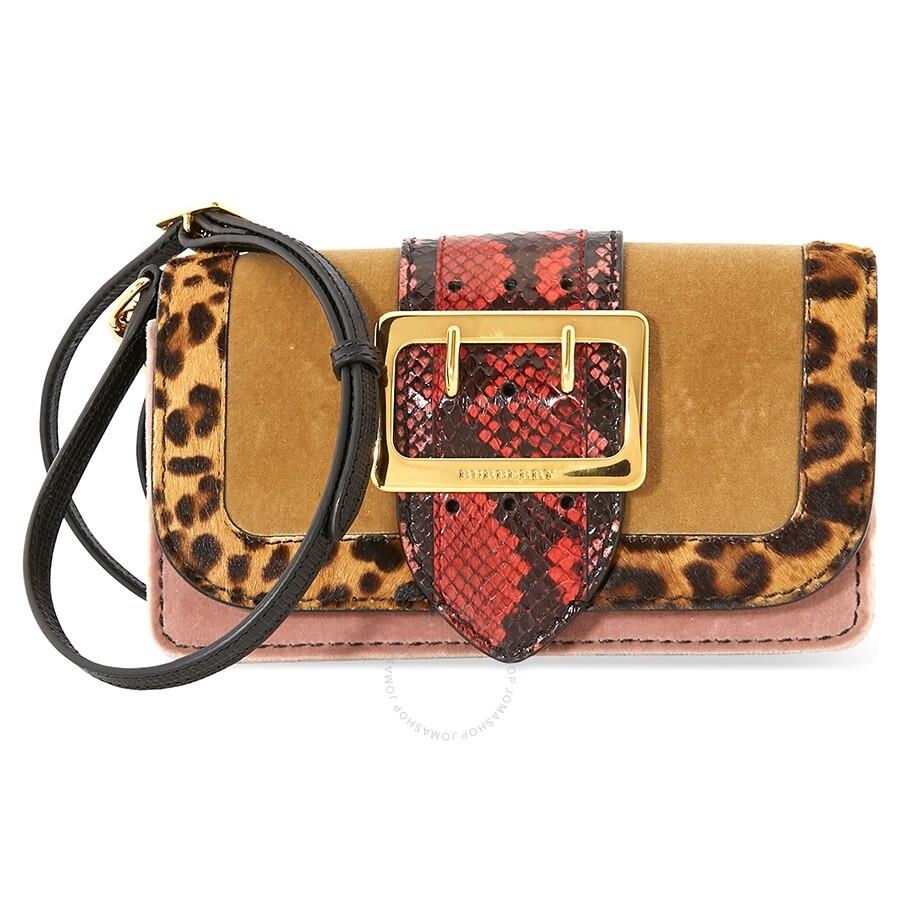 c624368f2ce6 Burberry Velvet Patchwork Crossbody Bag - Burberry Handbags ...