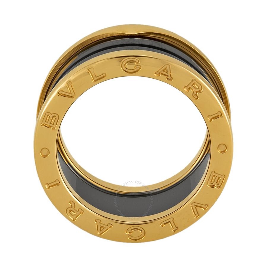 bvlgari b zero 18kt pink gold ring size 52 bvlgari