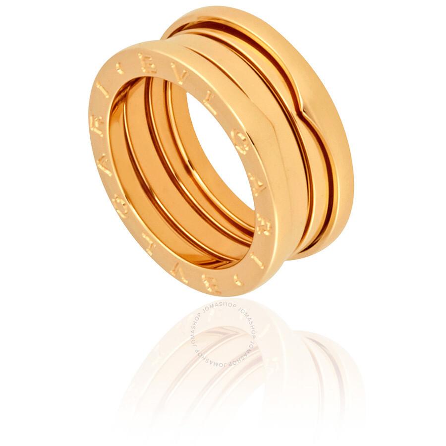 Bvlgari B-Zero1 18kt Yellow Gold Ladies Ring 323520 - Bvlgari ...